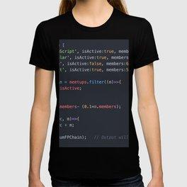 Java script T-shirt