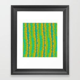 Flame Print Framed Art Print