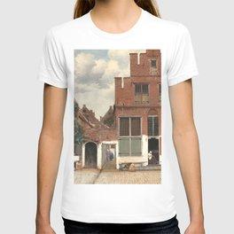 Johannes Vermeer The Little Street T-shirt