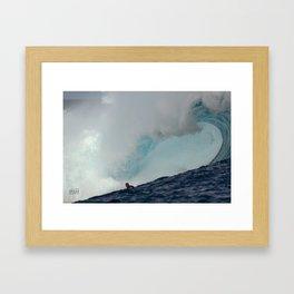 RAONI MONTEIRO  C L O U D B R E A K   X X L   Framed Art Print