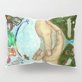 Ten of Cups (Amanda Palmer tarot deck) Pillow Sham