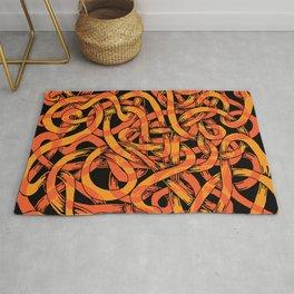 earthworms Rug