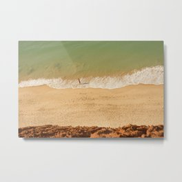 Beach Algarve Portugal Metal Print