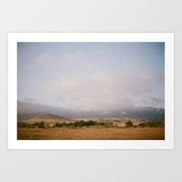 Coast of California [II] Art Print