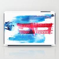 bridge iPad Cases featuring Manhattan bridge by Robert Farkas