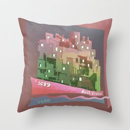 2019 Best Cruise discovering your urban environment through emotions. Throw Pillow