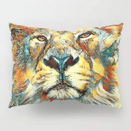 AnimalArt_Lion_20170607_by_JAMColorsSpecial Pillow Sham