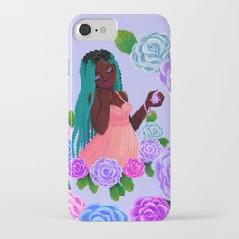 Turquoise Twists iPhone Case