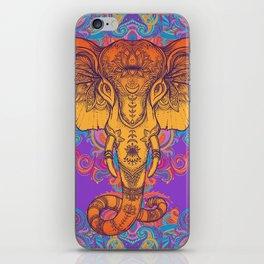 Orange Ganesha iPhone Skin