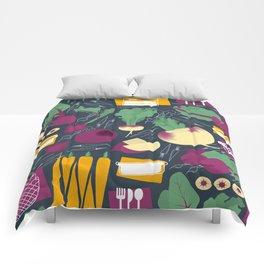 Root Vegetables Comforters