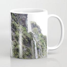 Waterfalls in Doubtful Sound Coffee Mug