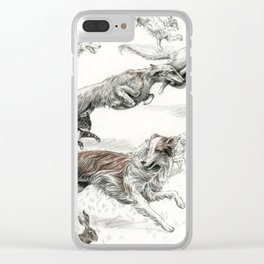 The Tracks Clear iPhone Case
