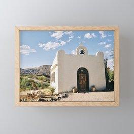 Mission - Lajitas, Texas Framed Mini Art Print