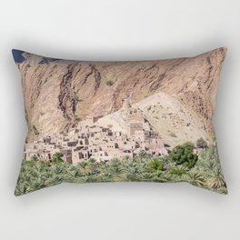 Abandoned Village - Oman Rectangular Pillow