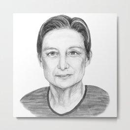 Judith Butler Metal Print