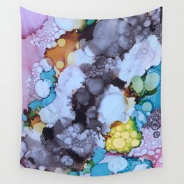 Inky Bubbles Wall Tapestry