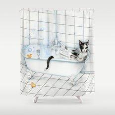 DO NOT DISTURB 2 Shower Curtain