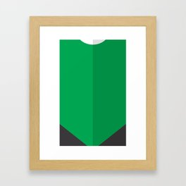 """Belts of Justice: Spacecop Series """"The Light"""" Framed Art Print"""