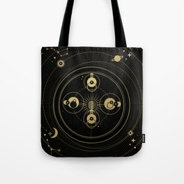 Mercury Orbit Tote Bag