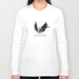 The Archangel Wars - Fight Evil Long Sleeve T-shirt