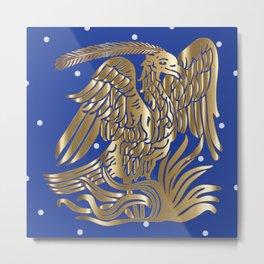The Rising Phoenix Metal Print