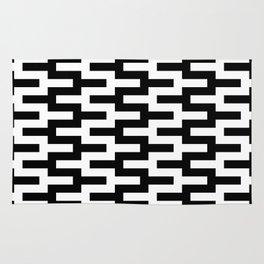 Geometric Pattern #89 (zigzag) Rug