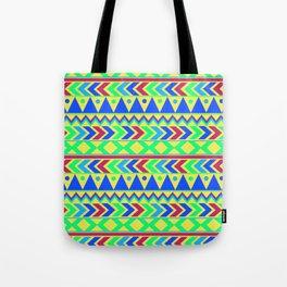 Tribal Motif Tote Bag