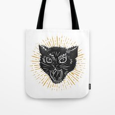 kitty attack Tote Bag