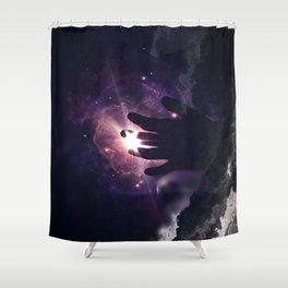 Traversing the Universe Shower Curtain