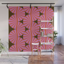 Abstraction_Stripe_Line_Art_Minimalism_001 Wall Mural