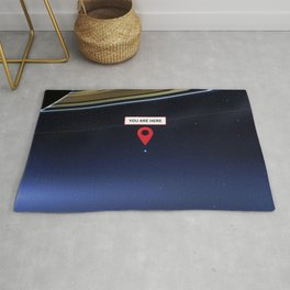 You are here: Cassini, Pale Blue Dot Rug