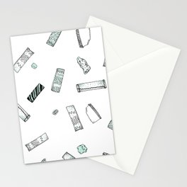 Gum Pattern Stationery Cards