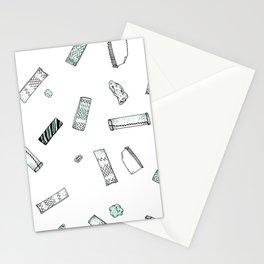 Gum Pattern Stationery Cards