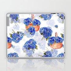 Cape Cod Hydrangeas and Baskets Laptop & iPad Skin