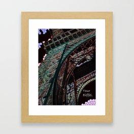 tour effiel Framed Art Print