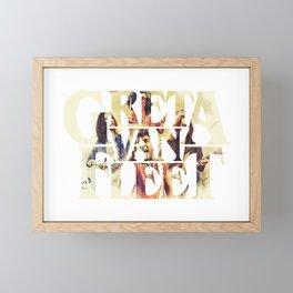 Greta Van Fleet Band Tour Framed Mini Art Print