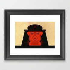 Kremlin Joe Framed Art Print