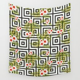 Geometric Jungle #society6 #decor #buyart Wall Tapestry