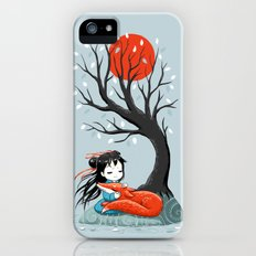 Girl and a Fox 2 iPhone (5, 5s) Slim Case