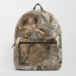 Sparkling Metal Art 8 Backpack