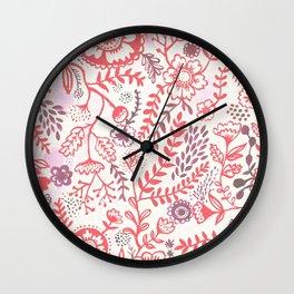 Jane's Garden Wall Clock