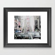 NEW YORK 2 Framed Art Print