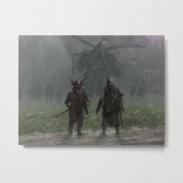 Brothers in arms - Invasion Metal Print