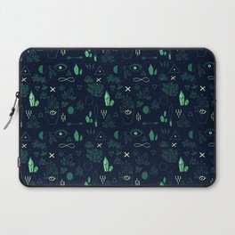 Witchcraft Pattern - Moss Laptop Sleeve