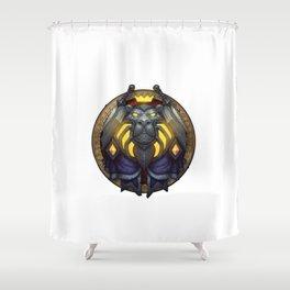 Paladin Sigil Shower Curtain