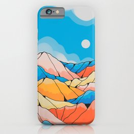 The spring hill peaks iPhone Case