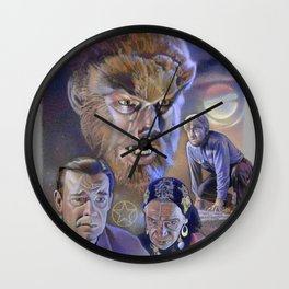 The Wolf Man (1941) Wall Clock