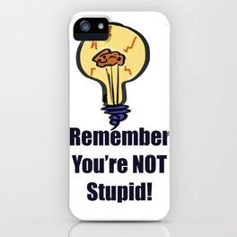Life Lesson iPhone Case