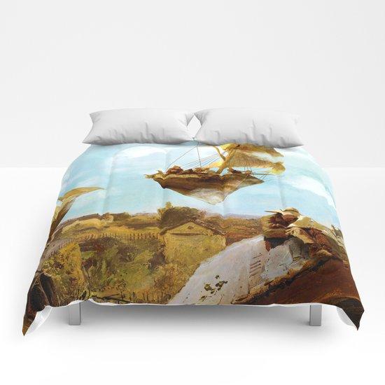 Sky Fishermen Comforters