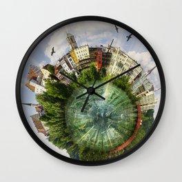 Wasserburg-am-Inn (Bavaria/Germany) Wall Clock